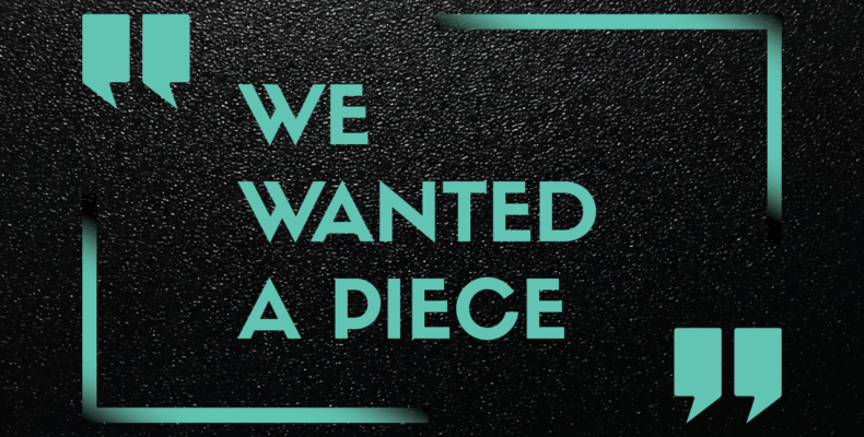 "Featured Quote: ""We wanted a piece."""